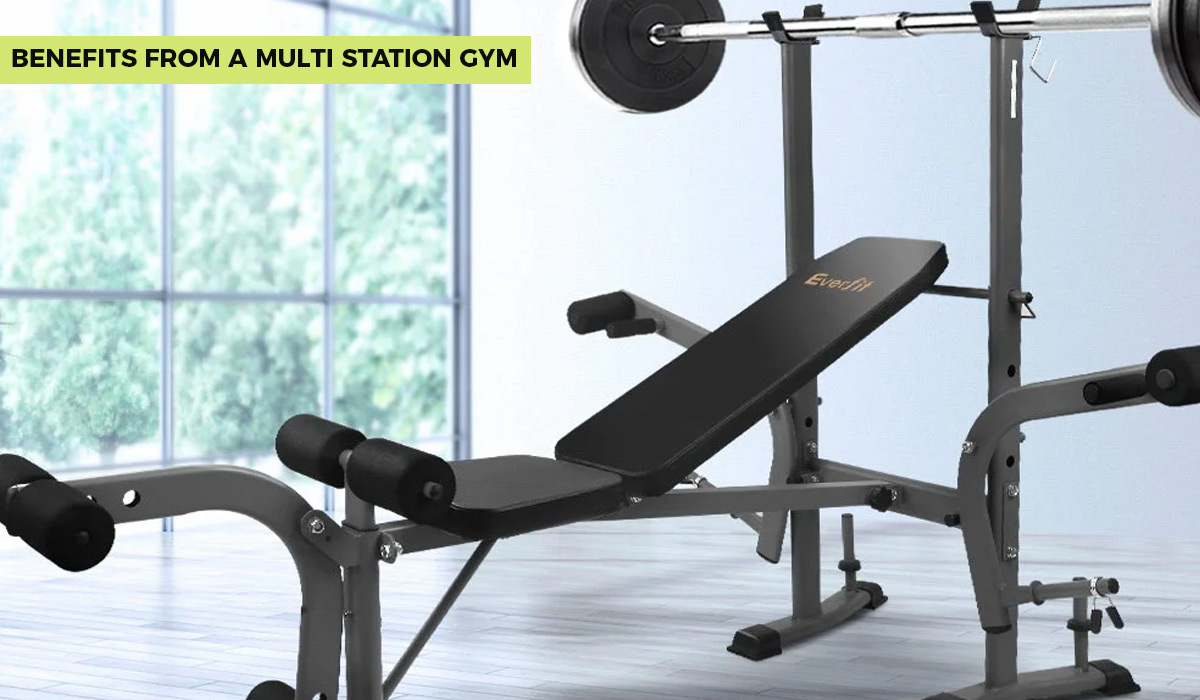 Benefits from a Multi Station Gym